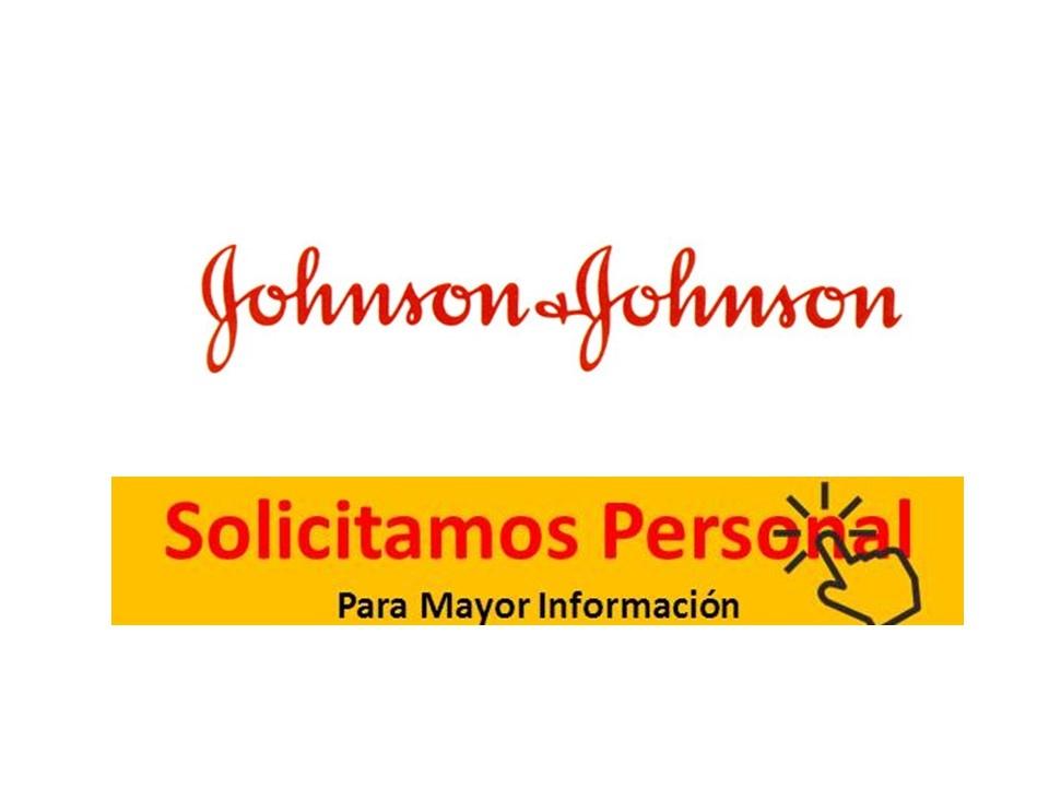 ofertas de trabajo Johnson & Johnson